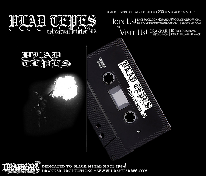 VLAD TEPES - Reh. Winter '93 Cassette