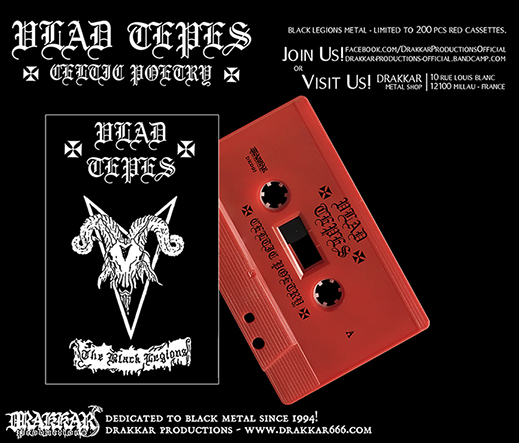 VLAD TEPES - Celtic Poetry Cassette