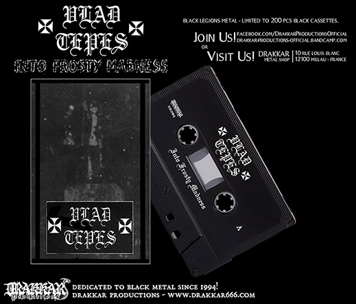 VLAD TEPES - Into Frosty Madness Cassette