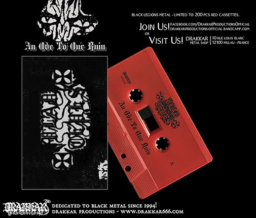 VLAD TEPES - An Ode To Our Ruin Cassette
