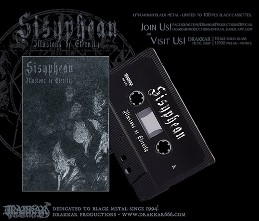 SISYPHEAN - llusions of Eternity Tape