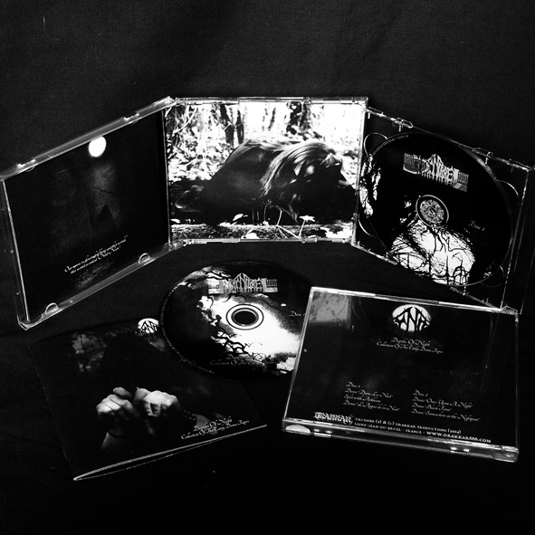 NUIT NOIRE - Depths of Night: Collection of the Early Demo Tapes