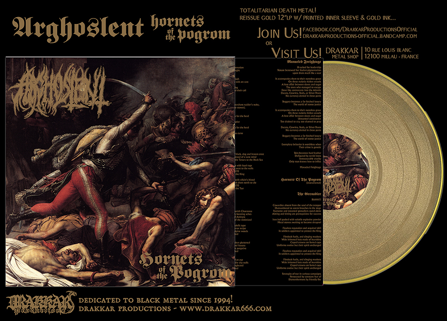 ARGHOSLENT - Hornets of the Pogrom GOLD 12