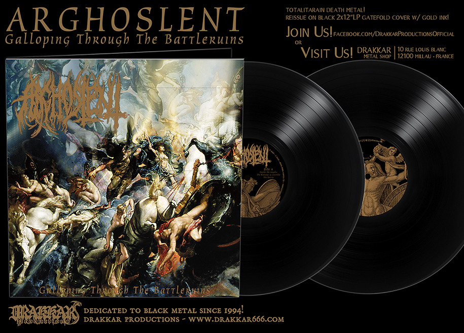 ARGHOSLENT - Galloping Through The Battleruins Gatefold BLACK 2x12