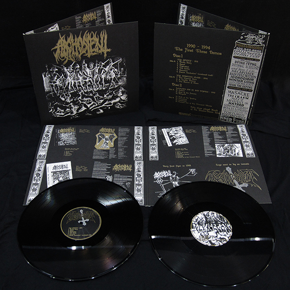 ARGHOSLENT - 1990-1994 The First Three Demos Gatefold 2x12