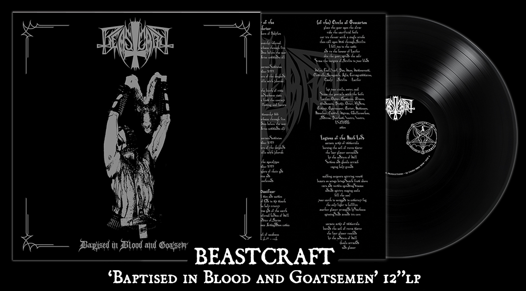 BEASTCRAFT - Baptised in Blood and Goatsemen 12