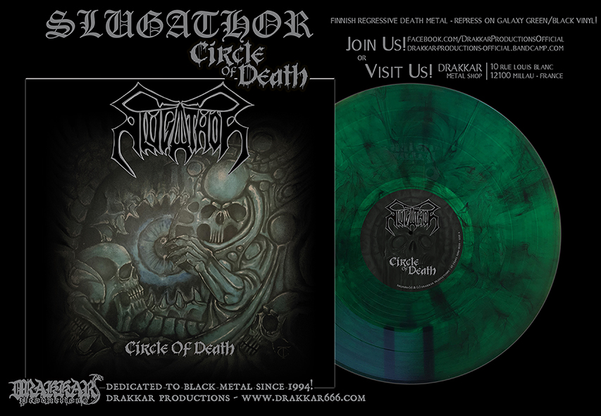 SLUGATHOR - Circle of Death Galaxy Green/Black 12