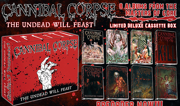 CANNIBAL CORPSE - The Undead Will Feast Cassette Box