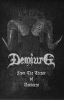 DEMIURG - From the Throne Darkness