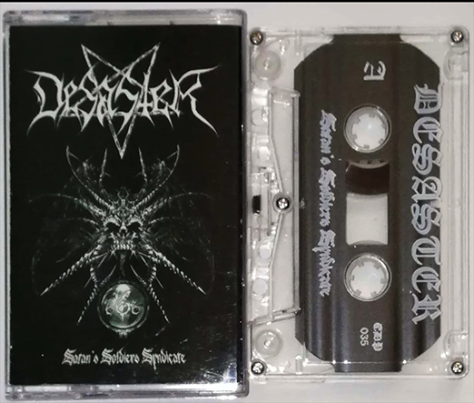 DESASTER - Satan's Soldiers Syndicate Tape