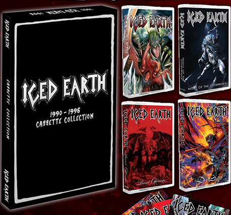 ICED EARTH - 1990-1996: Cassette Collection