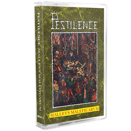 PESTILENCE - Malleus Maleficarum Tape