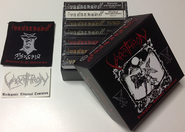 VARATHRON - Archegonic Abysmal Dominion Cassette Box