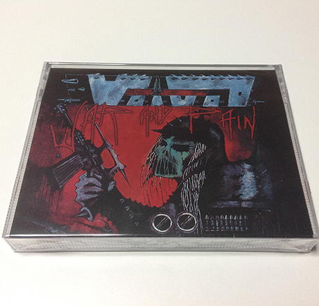 VOIVOD - War and Pain Tape Box