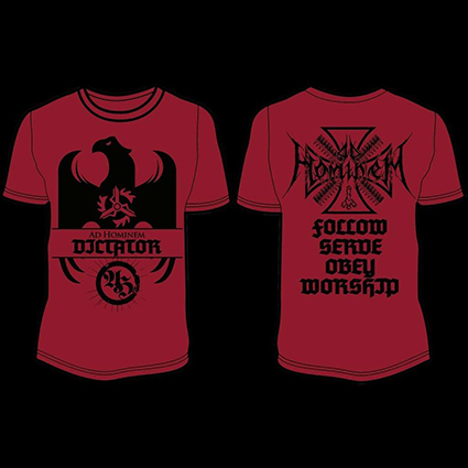 AD HOMINEM - Dictator Red TS