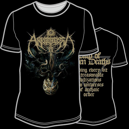 AKROTHEISM - The Law Of Seven Deaths TS