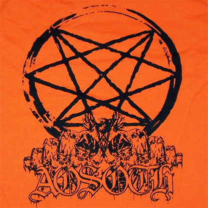 AOSOTH - Logo Orange Blood TS