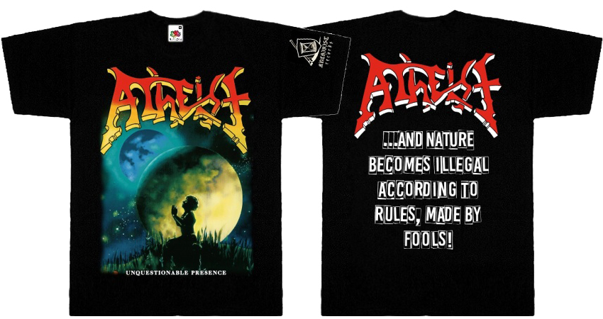 ATHEIST - Unquestionable Presence TS