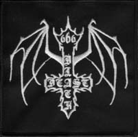 BLACK BEAST - Logo Patch