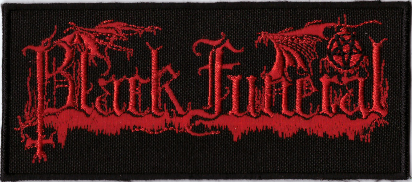 BLACK FUNERAL - Logo Patch