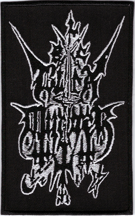 BLACK MURDER - Logo Patch