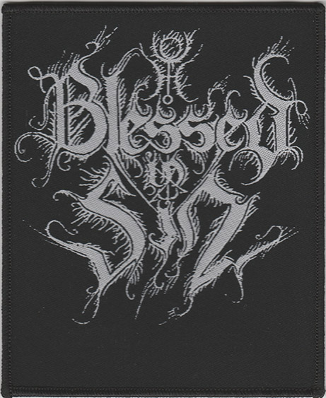 BLESSED IN SIN - Logo Patch