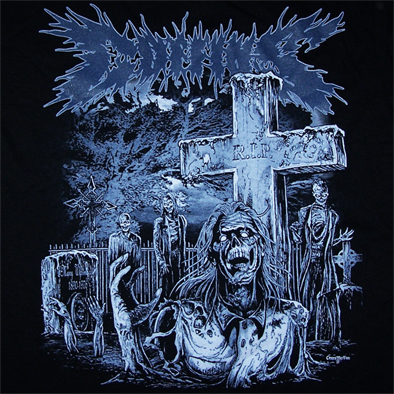COFFINS - Buried Death TS