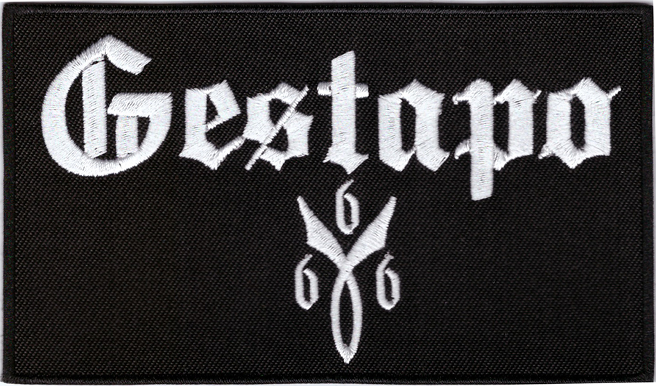 GESTAPO666 - Logo Patch