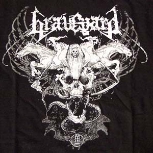 GRAVEYARD - Ridding a pale horse TS