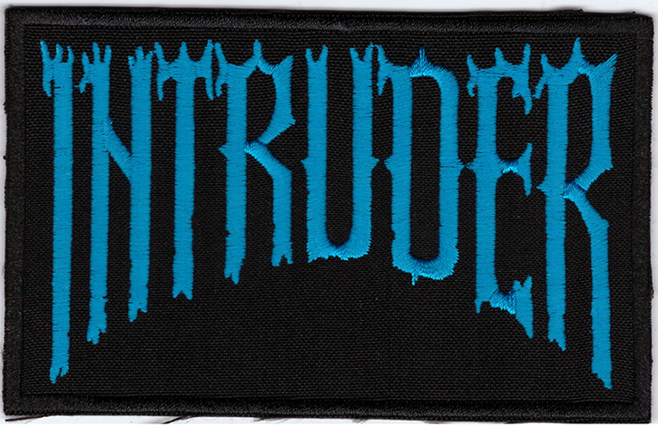 INTRUDER - Logo Patch