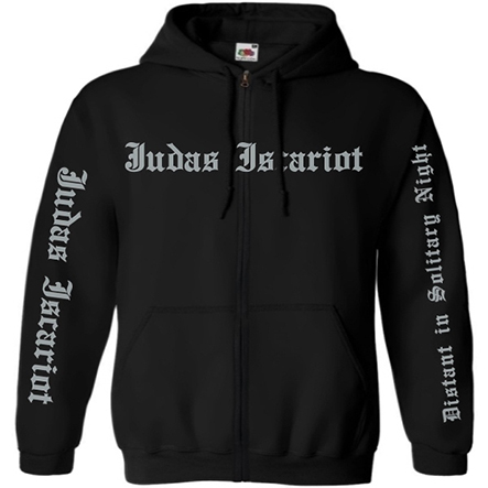 JUDAS ISCARIOT - Distant In Solitary Night Hooded Sweat Jacket