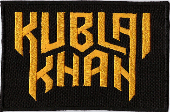 KUBLAI KHAN - Logo Patch
