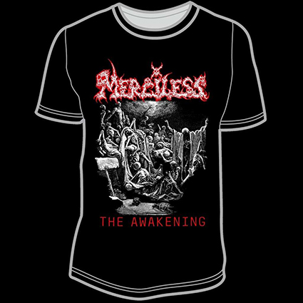 MERCILESS - The Awakening 2019 TS