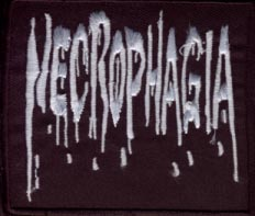NECROPHAGIA - Logo Patch