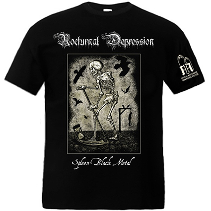 NOCTURNAL DEPRESSION - Spleen Black Metal TS