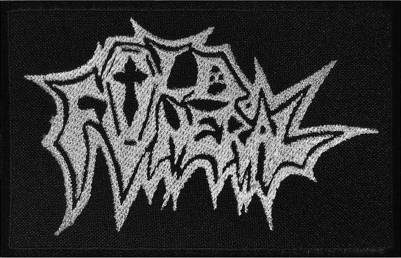 OLD FUNERAL - Logo Patchh