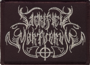 SACRIFICIA MORTUORUM - Logo Embroidered Patch