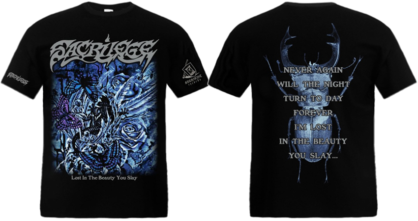 SACRILEGE - Lost In The Beauty You Slay TS