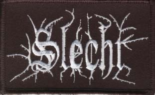 SLECHT - Embroidered Logo Patch