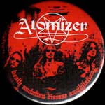 ATOMIZER - Death Mutation DiseaseAnnihilation Badge