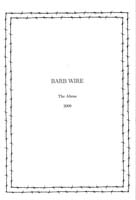 BARB WIRE - book/ zine