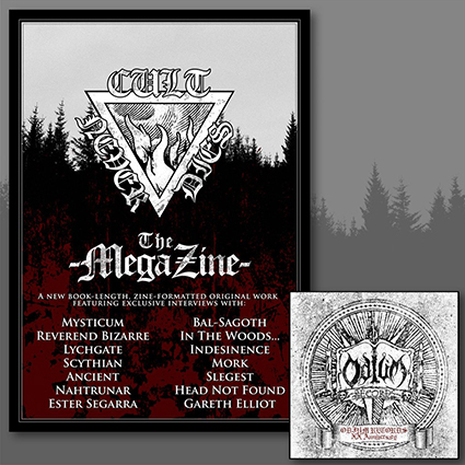 CULT NEVER DIES THE MEGA ZINE