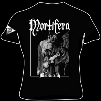 MORTIFERA - Maledictiih Girly Sizes S/M/L