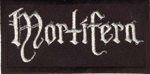 MORTIFERA  - Logo Embroidered Patch